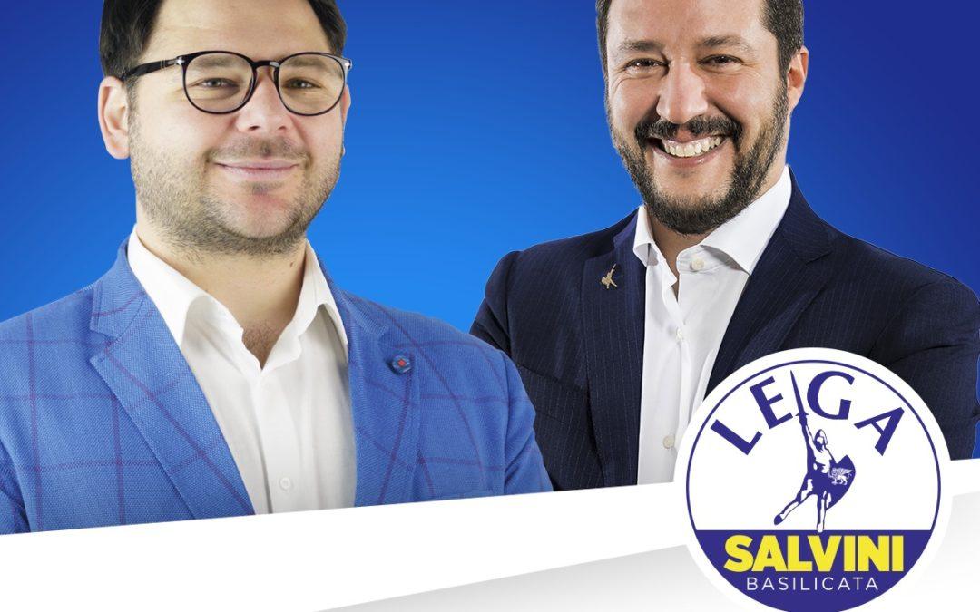 Matteo Salvini a Scanzano Jonico